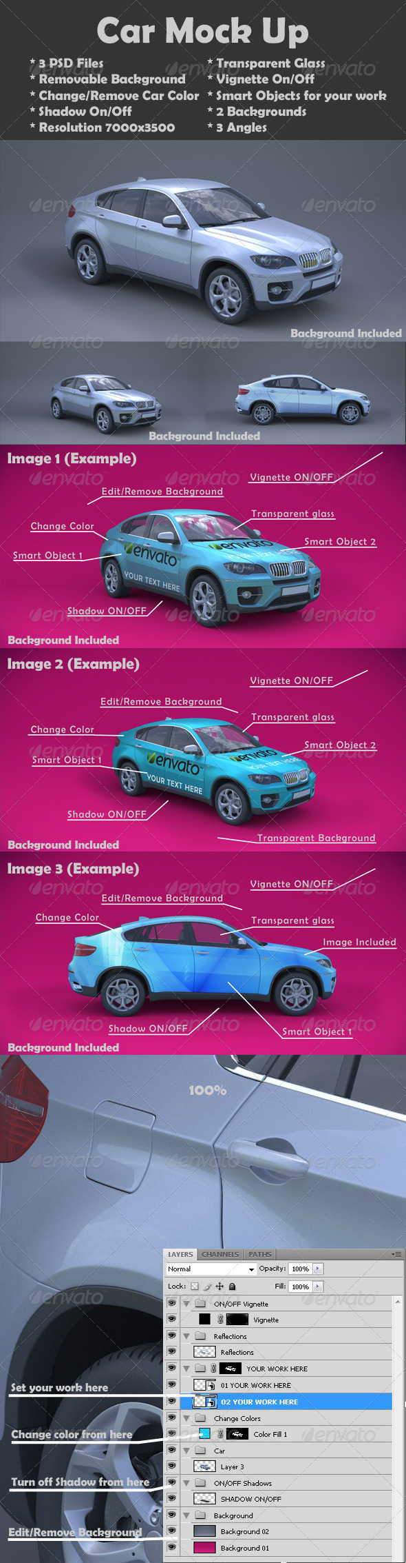 GraphicRiver Car Mock-Up 2780874