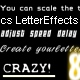 Crazy text effects with one single line of code!  - ActiveDen Item for Sale