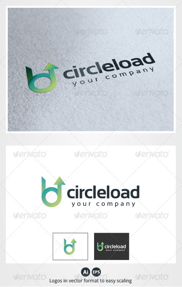 Circle Load Logo - Symbols Logo Templates