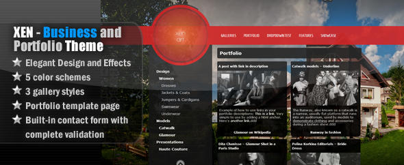 Xen - Business & Portfolio WordPress Theme