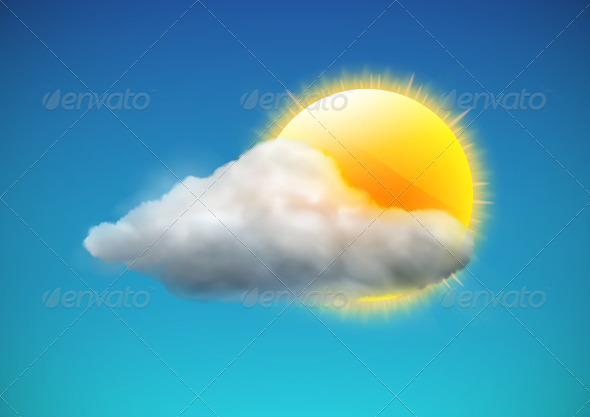 Weather icon - Nature Conceptual