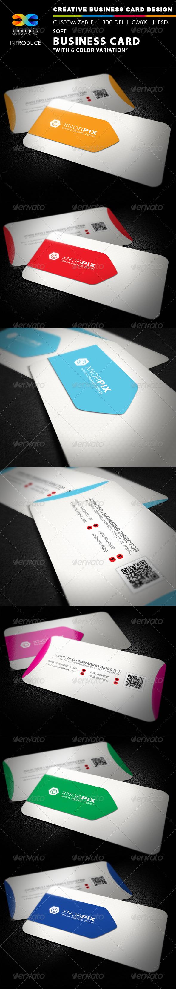 GraphicRiver Soft Business Card 2776440