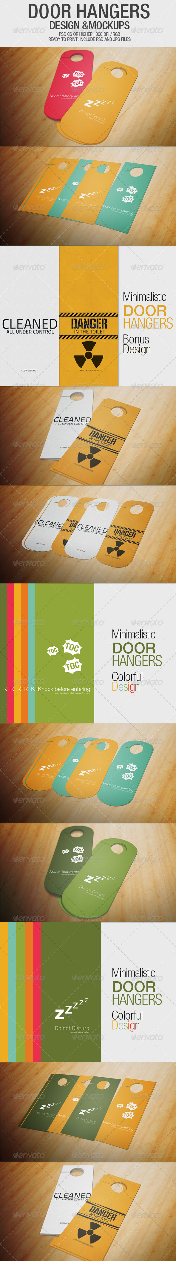 Door Hangers - Miscellaneous Print Templates