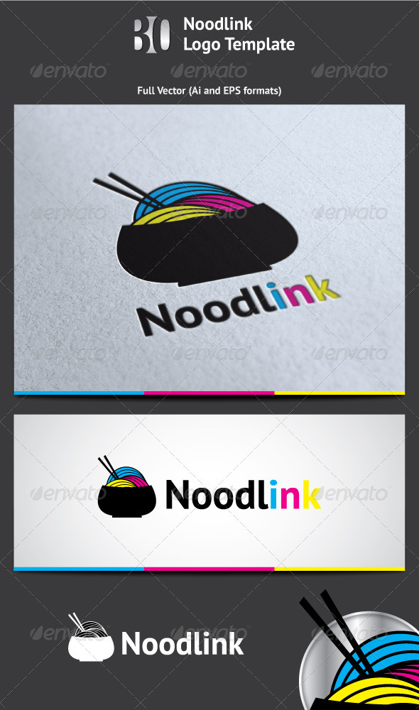 Noodlink Logo - Vector Abstract