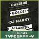 Fresh Typography Flyer Template - GraphicRiver Item for Sale