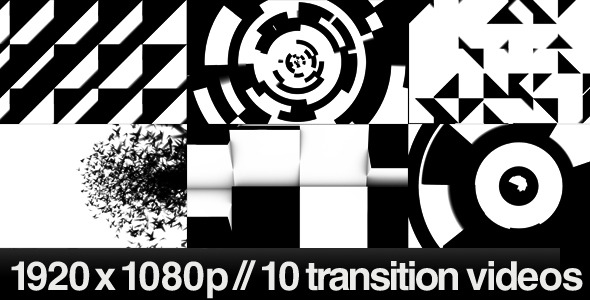 [VideoHive 301892] 10 HD Transitions Bundle C | Motion Graphics