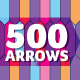 500 Vector Arrows - GraphicRiver Item for Sale