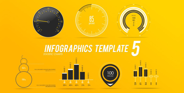 Infographic Ideas videohive infographic template 3 : Infographics Template 5 by PerryCox | VideoHive
