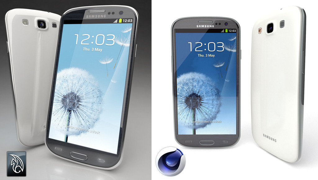 Samsung Galaxy S3  - 3DOcean Item for Sale
