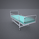Hospital Wheeled Bed