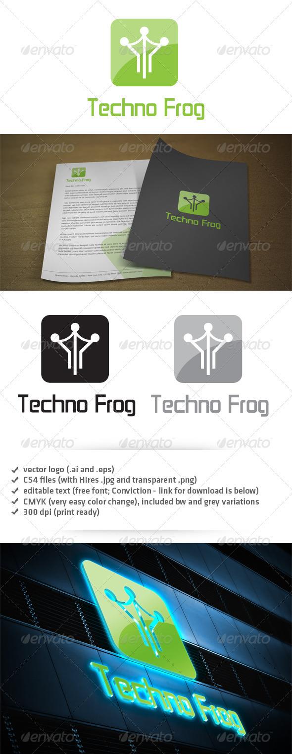 Techno Forg Logo - Symbols Logo Templates
