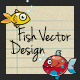 Fish Vector Design - GraphicRiver Item for Sale
