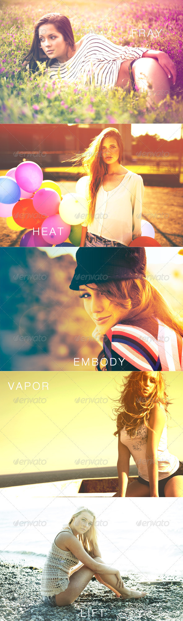 GraphicRiver Fresh Summer Photography Actions 2783877