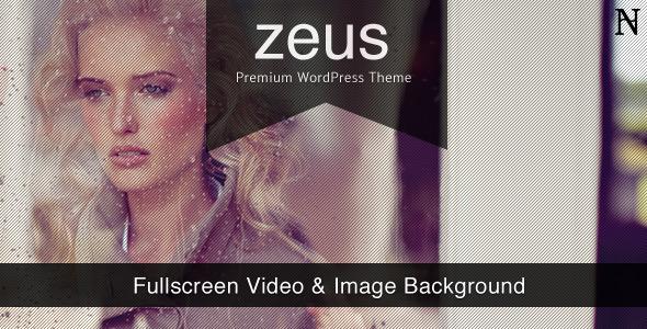 ThemeForest Zeus Fullscreen Video & Image Background 547621