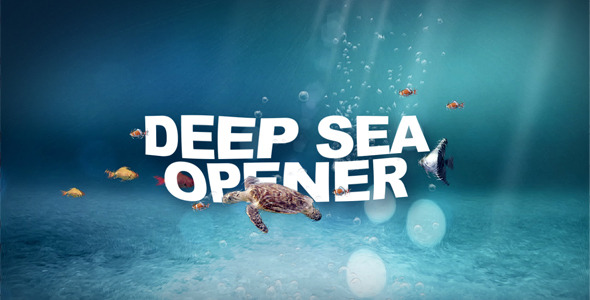 After Effects Project - VideoHive Deep Sea Opener ID 2795116
