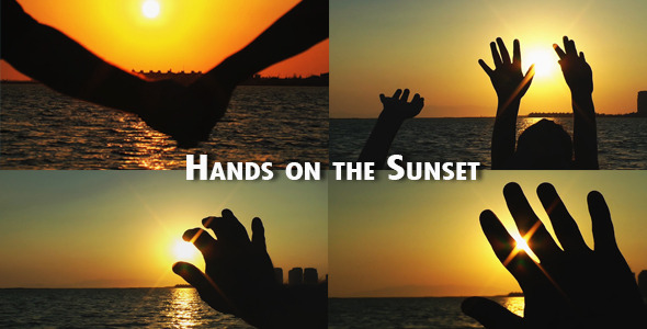 Hands On The Sunset