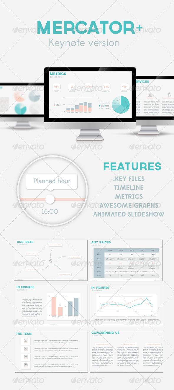 Mercator+ - Keynote Templates Presentation Templates