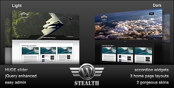 ThemeForest WordPress Stealth 100751