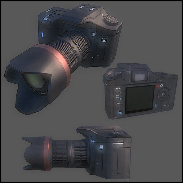 Digital Camera - 3DOcean Item for Sale