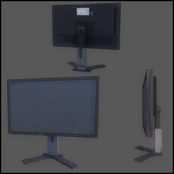3DOcean Flat Screen Monitor 2796012