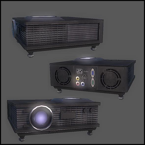 3DOcean Digital Projector 2796023