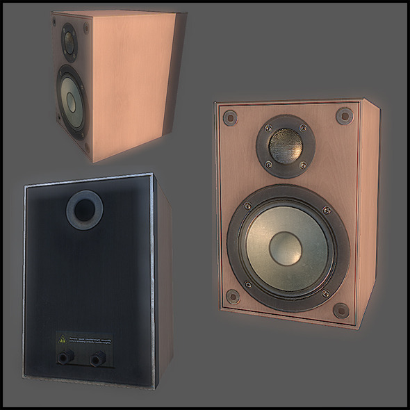 3DOcean Speakers Set 2796037