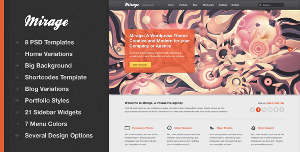Mirage - Functional PSD Template