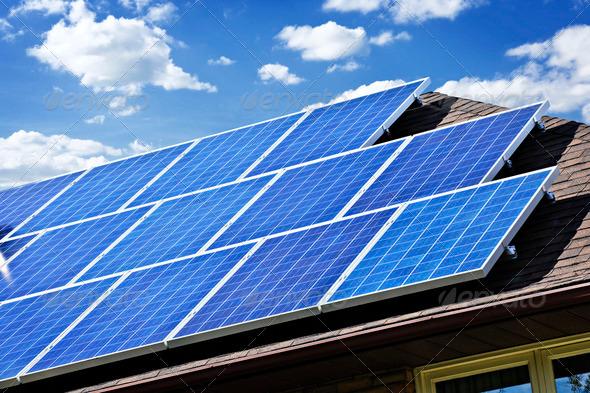 PhotoDune Solar Panels 204929