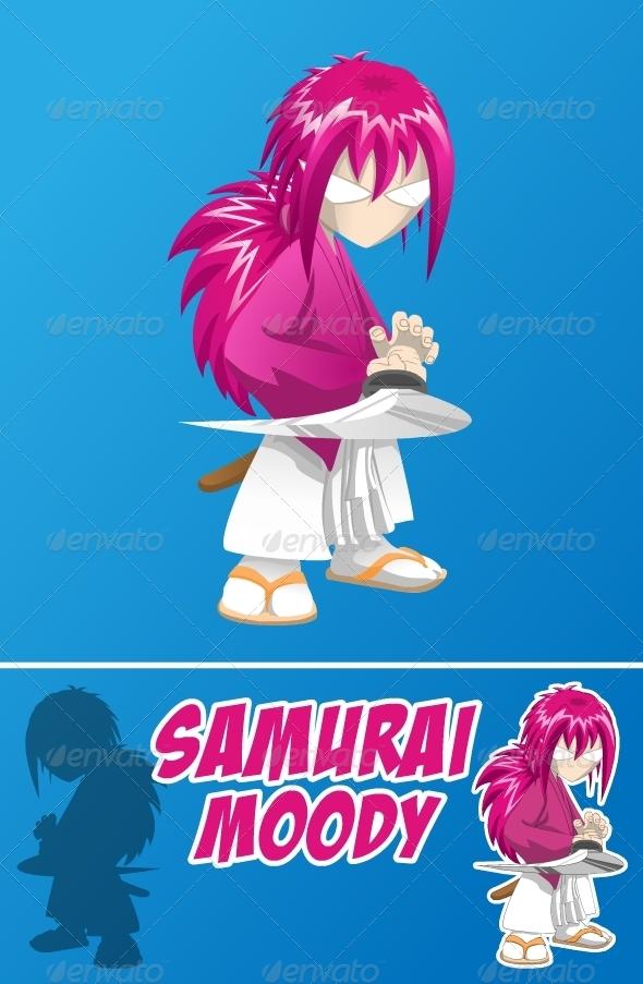 GraphicRiver Samurai Moody 2796598