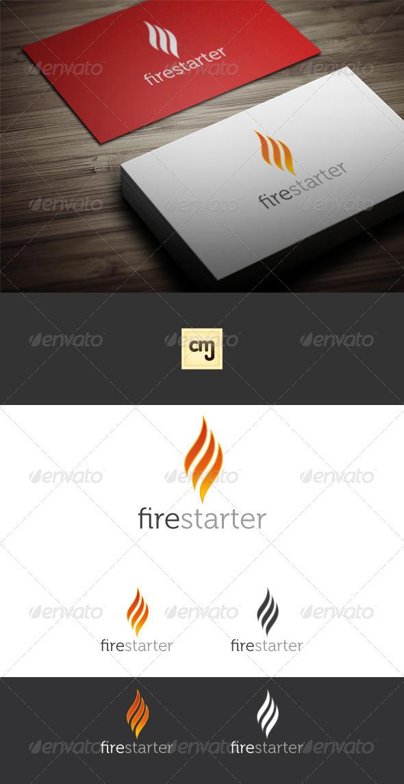 Fire Starter Logo Template