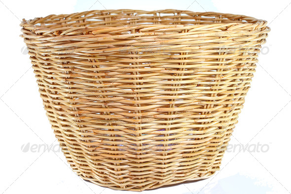 Wicker baskets - Stock Photo - Images