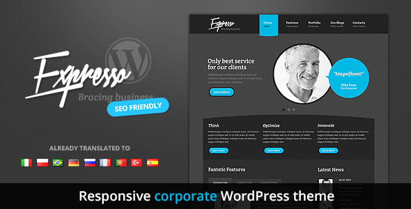 Expresso - A New Premium Responsive Corporate WordPress Theme