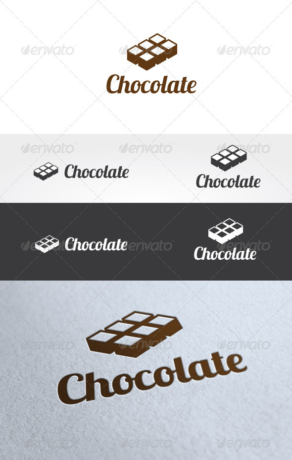 Chocolate Logo Templates - Food Logo Templates