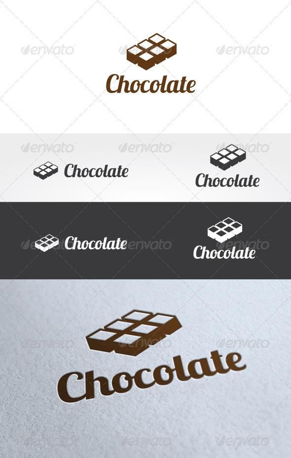 Chocolate Logo Templates - Food Logo Templates