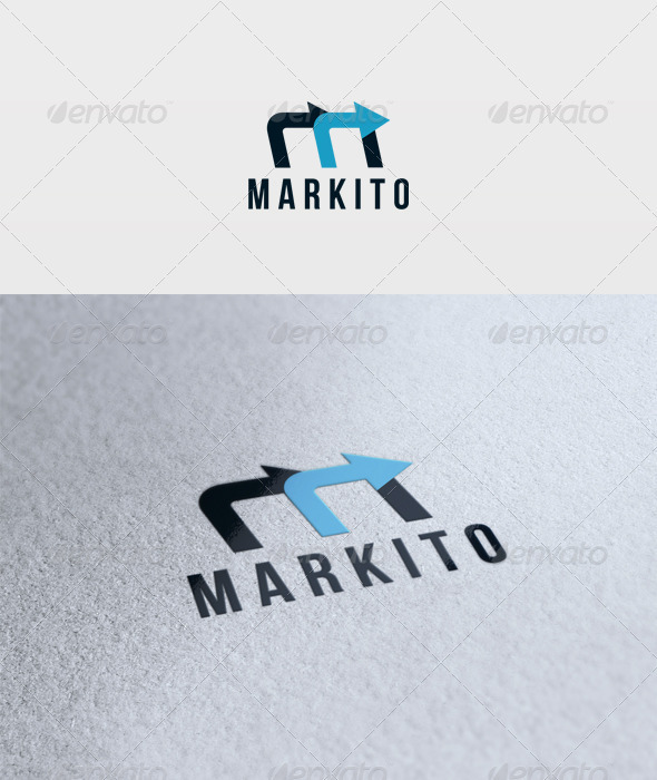 Markito Logo - Letters Logo Templates