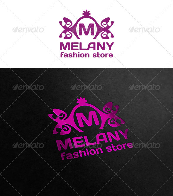Melany - Crests Logo Templates