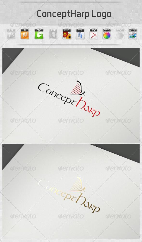 GraphicRiver ConceptHarp Logo 2799052