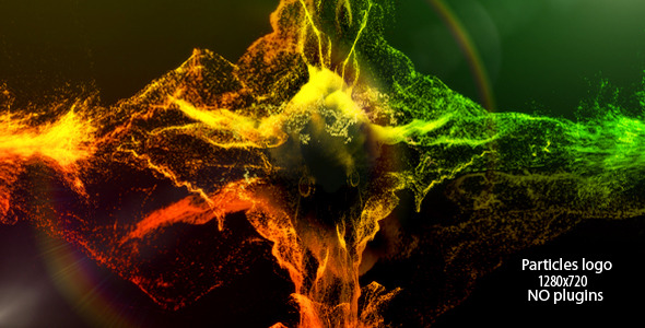 VideoHive Particles logo 2799173