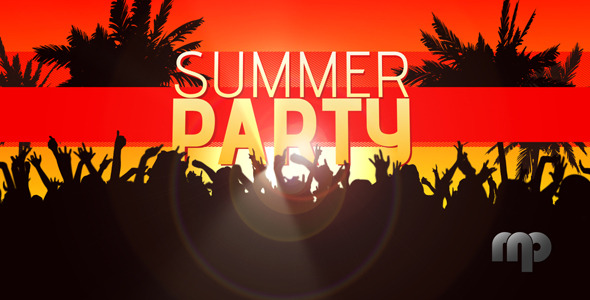 After Effects Project - VideoHive Summer Party 2800350