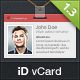 iD vCard - Unique Premium vCard Template - ThemeForest Item for Sale