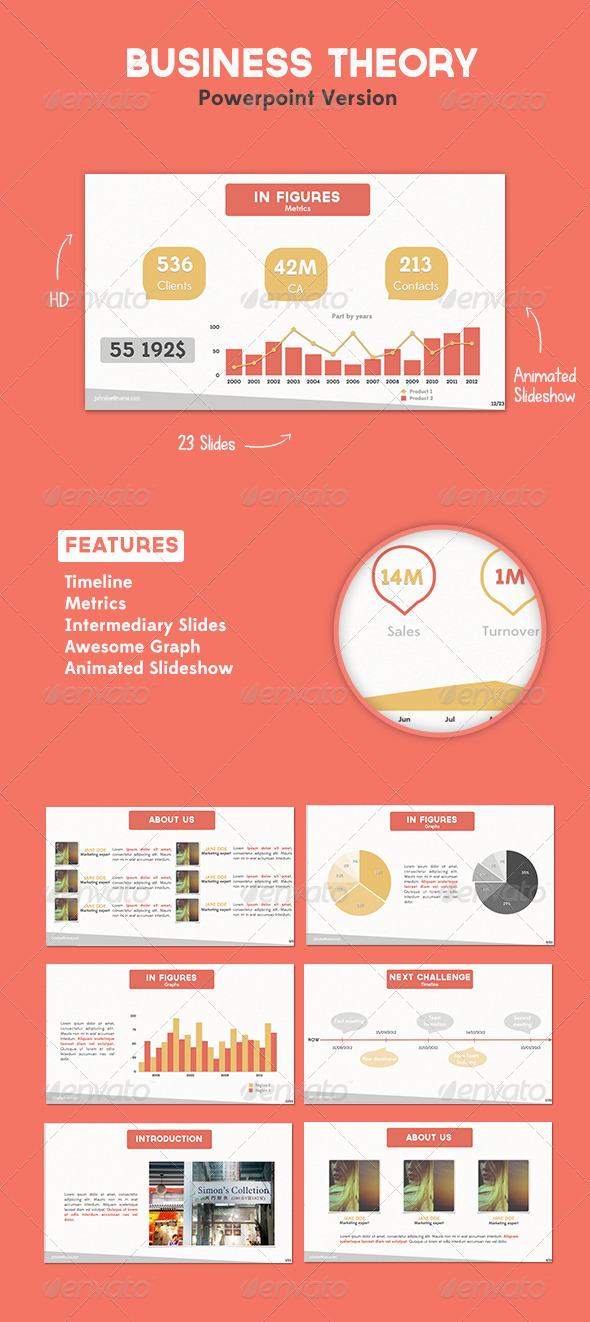 GraphicRiver BUSINESS THEORY POWERPOINT 2800611
