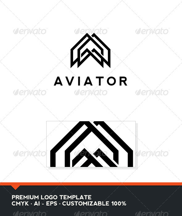 Aviator Logo Template - Abstract Logo Templates