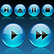 Media Player Icons Set V1 - ActiveDen Item for Sale