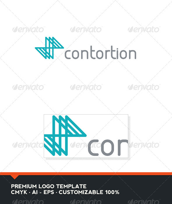 Contortion Logo Template - Abstract Logo Templates