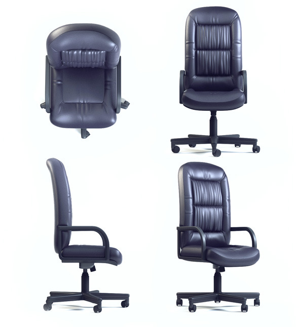 3DOcean Quality 3dmodel of office chair CHAIRMAN CH-416 SP 2801048
