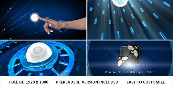 VideoHive Touch & Reveal Logo 2801417