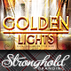Golden Lights Event Flyer Template - GraphicRiver Item for Sale