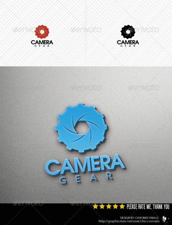 Camera Gear Logo Template - Abstract Logo Templates
