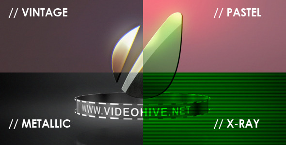 VideoHive Logo Sting 4 Styles 2801708