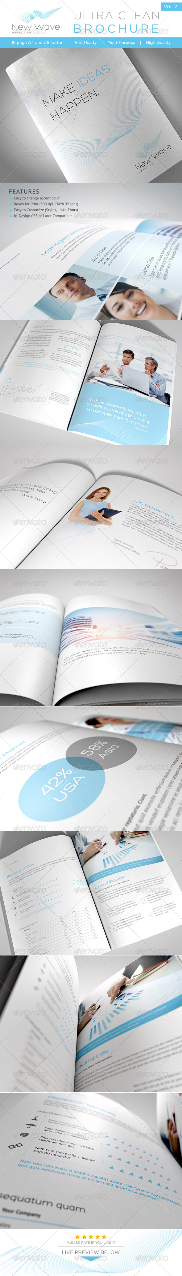 GraphicRiver Ultra Clean Brochure Vol 2 2802178